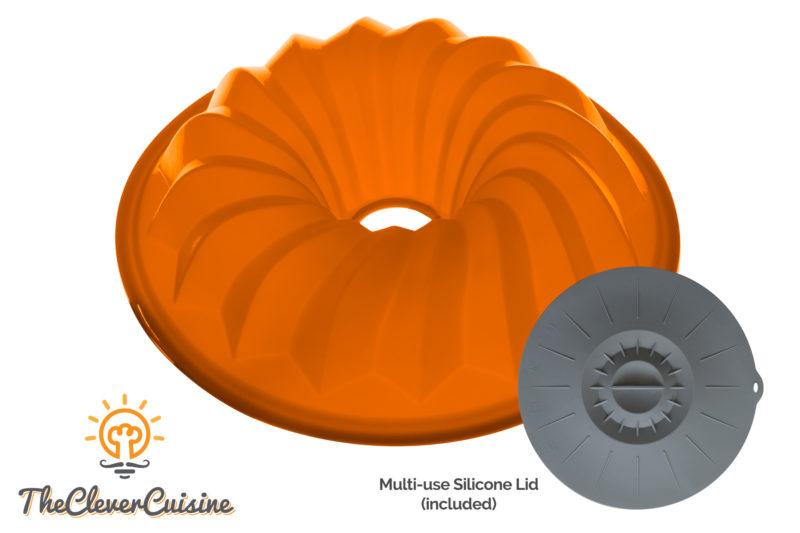 Silicone Bundt Mold Cake Pan Bake