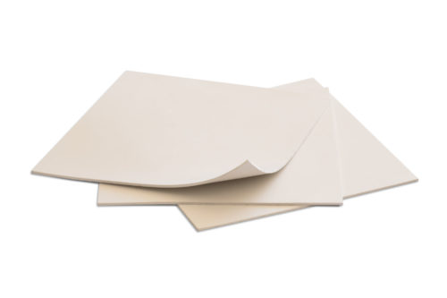 Everest Rubber Sheets Off White 6x6 1/16