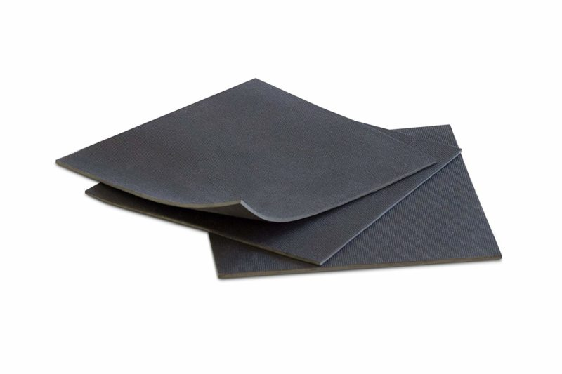 MATNIKS Rubber Sheet Commercial Neoprene CR Mesh Black